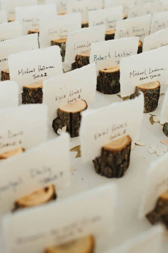 Seating plan boda de invierno. Wedding Planner en Alicante, Elche y Murcia.