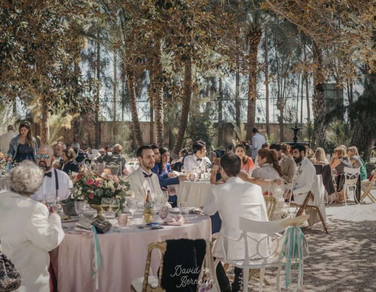 Wedding Planner Alicante. Destination Wedding. Organización de bodas. Banquete.